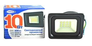 Прожектор светодиодный ТМ IONICH IFLSLED-DOB- 10-865-BL-IP65